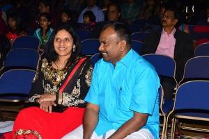Mr.Jacob along with Mayor Mrs Manju