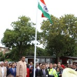 Biggest Handwowen Indian Flag Unvellied in London Independence Celebrations (2)