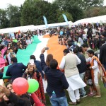 Biggest Handwowen Indian Flag Unvellied in London Independence Celebrations (5)