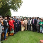 Biggest Handwowen Indian Flag Unvellied in London Independence Celebrations (6)
